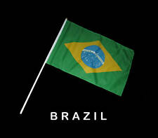 BRAZIL BRAZILIAN Hand Waver Flag - 30x45cm