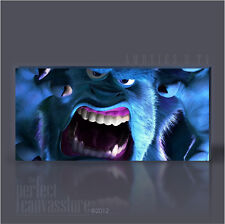 AWESOME MONSTERS INC DISNEYS SULLEY GIANT ICONIC CANVAS ART by Art Williams