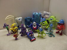 DISNEY MONSTERS INC FIGURES LOT BOO MIKE FUNGUS RANDALL AGENT YETI SULLEY