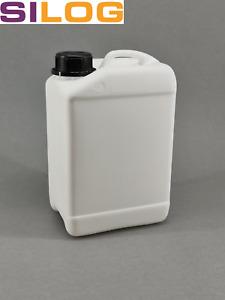 PE- Kanister (2 l, 2,5 l, 5 l, 10 l, 20 l, 25 Liter/l), Wasserkanister, Kanister