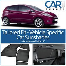 Ford Fiesta 5dr 08-17 UV CAR SHADES WINDOW SUN BLINDS PRIVACY GLASS TINT BLACK