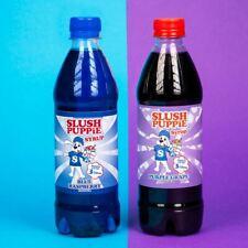 Slush Puppie Syrup 2 Pack Blue Raspberry & Purple Grape-New Flavour