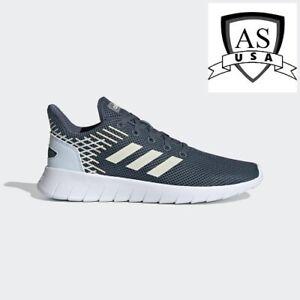 Adidas Women ASWEERUN Shoes Size 5 Running Blue White Sneakers EG3186