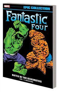 FANTASTIC FOUR: BATTLE OF BEHEMOTHS GRAPHIC NOVEL Marvel Comics Epic Collection