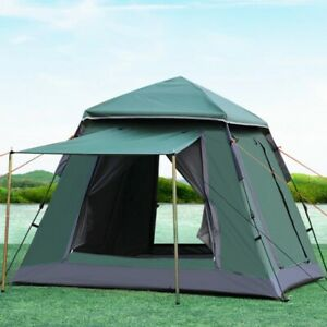 4 Man Person Family Cabin Tent Automatic Pop Up Quick Camping Shelter Car Bush