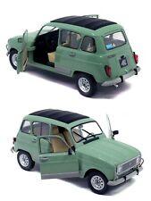 1/18 solido Renault 4L Clan 1978 Vert Celadon neuf livraison gratuite