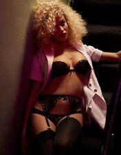Agent Provocateur 36B black silk 1/4 cup bra & briefs NEW petal ERIN