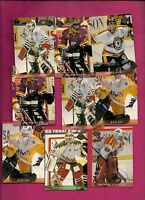 12 X 1995-96 LEAF SWEDEN  GOALIE CARD (INV#5797)