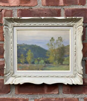 C1915 Edward Dufner New Jersey American Impressionist Landscape Painting. Signed