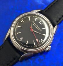 Vintage 1950s Mans GIRARD-PERREGAUX Gyromatic Fully Serviced W/ 1 Year WARRANTY