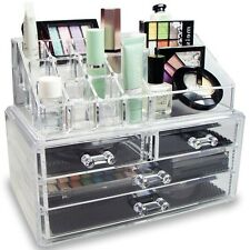 Bedroom Storage Ideas Jewelry Trays Vanity Cabinet Cosmetic Bathroom Organizer