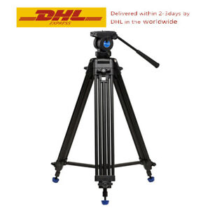 BENRO KH-25N Video Tripod Professional Magnesium Alloy Heavy Duty Kit Video Head