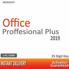 New ListingMsft Office 2019 Professional Plus |Pros Plus| 32-64 Bits Lifetime License Key
