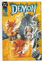 DC Comics, The Demon, Issue 34, Direct Sales, 1993, 9.6, Near Mint Condition,