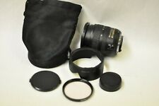 Nikon DX AF-S 18-70mm f3.5-4.5G ED zoom lens with filter, hood, caps and pouch