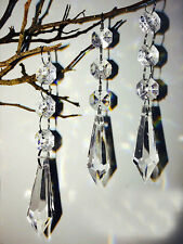 5PCS Ice drop Acrylic Crystal Beads Garland Chandelier Wedding Party Decor Hang