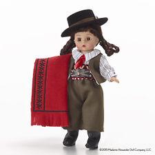 NEW RARE Madame Alexander BRAZIL Brazlian Girl Country Doll in Gaucho Pants