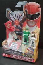 Power Rangers Super Megaforce Legendary Key Pack Green, White, and Armored Red