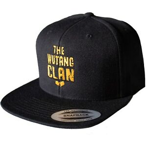 Wu-Tang Clan -  Logo Official Licensed Snapback Tour Baseball Cap