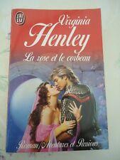 AVENTURES ET PASSIONS 3522 ET 3641  -LOT DE 2  ROMANS DE VIRGINIA HENLEY