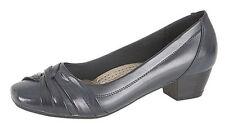 Women's Synthetic Leather Block Low (0.5-1.5 in.) Heels