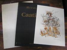 Hermann - Caatinga - Limitierter Hardcover mit Signierten Druck - Schuber