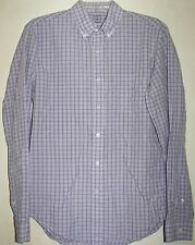 J. Crew Men's Long Sleeve Button Front Shirt-Size Small