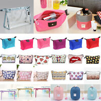 Waterproof Travel Toiletry Small Cosmetic Bag Makeup Case Pouch Organizer Holder