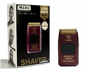 NEW WAHL 5-Star Foil Shaver / Shaper, Cord / Cordless, Bump Free #8061-100 8061