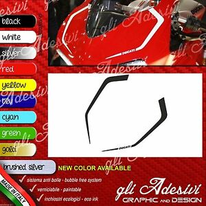 Series Adhesives Stickers Compatible DUCATI Panigale Tapered Logo A1