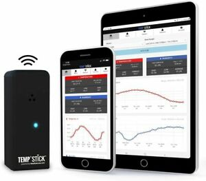 Temp Stick Wireless Remote Temperature & Humidity Sensor. Connects directly to W