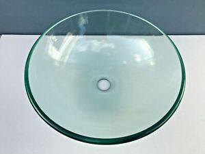 Clear Glass New Basin for bathroom vanity unit Glass thickness 12mm