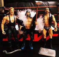 Hulk Hogan Kevin Nash Scott Hall NWO BACK & BAD Jakks Wrestling WCW WWE FIGURE
