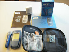 """NICE  COMPLETE  PREOWNED  """"RELI ON"""" BLOOD GLUCOSE TESTING KIT"""