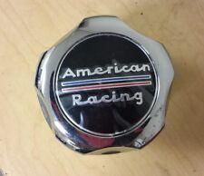 1 American Racing Wheel Center Hub Cap Chrome Push-Thru 1327000 (B)