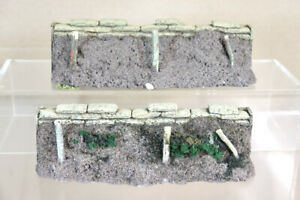 J G MINIATURES NAPOLEONIC WWI DEFENCE BARRIER Compatible with KING & COUNTRY 2oa