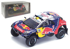 Spark S4876 Peugeot 2008 DKR16 Winner Dakar Rally 2016 - S Peterhansel 1/43