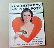 Saturday Evening Post Magazine October 31 1936 Complete Halloween Cover