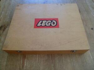 alte Lego Holzkiste - Original 60er Jahre - defekt,bastler,Dachbodenfund