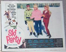 SKI PARTY - FRANKIE AVALON - BEACH PARTY SERIES - ORIGINAL LOBBY CARD