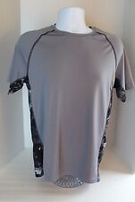 Men's Adidas Gray Adidas Stay Cool Short Sleeved Shirt size M