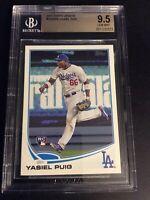 2013 Topps Update #US250A Yasiel Puig BGS Graded 9.5 LA Dodgers RC