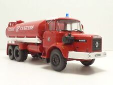 Camion Renault Gbh280 Pompiers citerne Canjuers 1/43