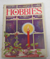 Hobbies Magazine For Collectors  December 1939   100914lm-e