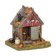 Backyard Tool Shed Figurine Dept 56 Halloween Village Accessory
