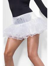 Mujer Enaguas Blanco Tul Enaguas Accesorio de disfraz talla única