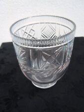 Verre à eau gobelet cristal d'époque 19ème