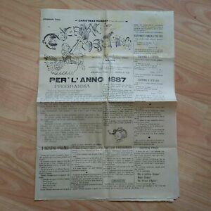 Giornale d'Epoca Guerin Meschino Numero di Natale 25/1/1886 LOTTO22