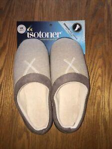 Isotoner Slip On Women's Slippers Tan Size SM 6.6-7 NEW