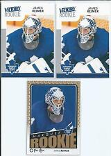 James Reimer  09/10  3-RC Lot   Victory & OPC